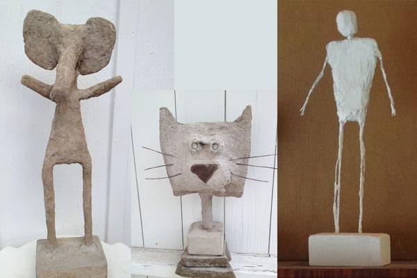 concrete sculptures