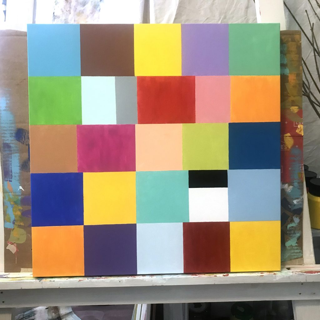 Geometric Abstract Paintings